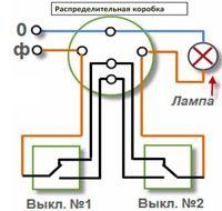 Проходные выключатели